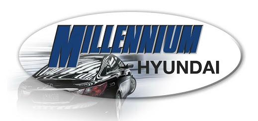 Millennium Hyundai Logo