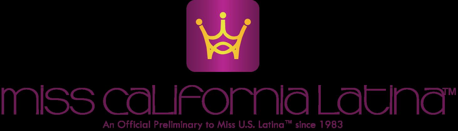 Miss California Latina Logo