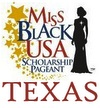 Miss Black Texas USA Logo