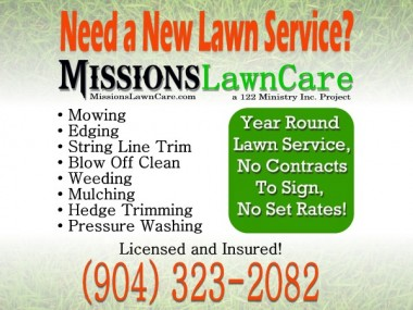 Missions Lawn and Landscape Logo