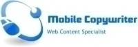 Mobile Copywriter Logo