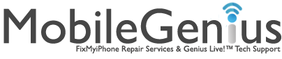 Mobile Genius - FixMyiPhone.com Logo