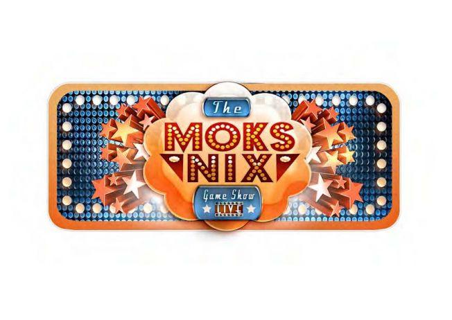 Moks Nix Live game show Logo