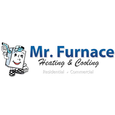 Mr. Furnace Heating and Cooling Logo