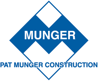 Pat Munger Construction Co., Inc. Logo