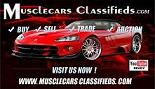 Muscle Cars Classifieds.com Logo