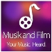 Musik and Film, Inc Logo