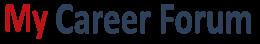 My Career Forum Logo