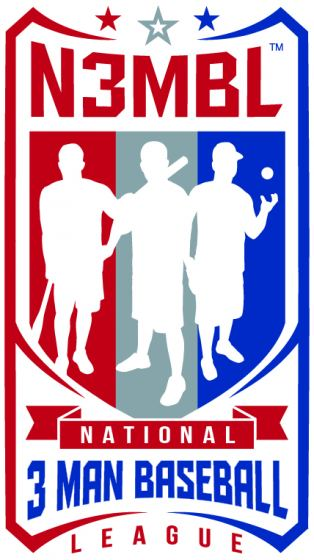 The National 3 Man Ball League Logo