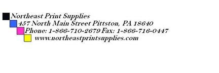 Northeast Print Supplies Logo