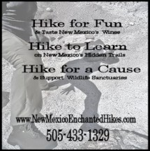 New Mexico Enchanted Hikes Logo