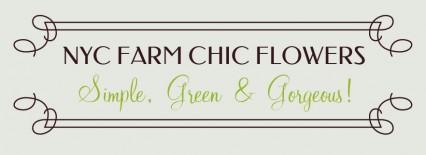 NYCFarmChicFlowers Logo