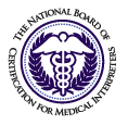 National Board, Certification for Medical Interpr Logo