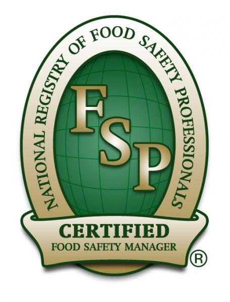 National Registry of Food Safety Professionals Logo