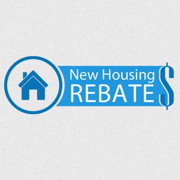New Housing Rebate Logo