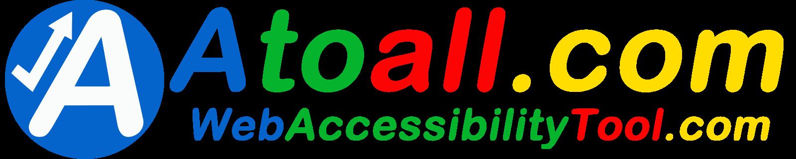 Web accessibility tool Logo