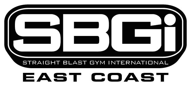 Straight Blast Gym East Coast Logo