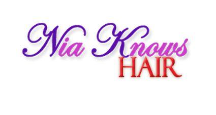 Nia Knows Hair Logo