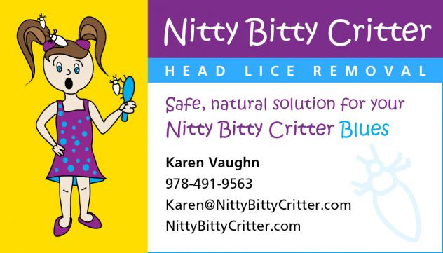 Nitty Bitty Critter Head Lice Removal Service Logo