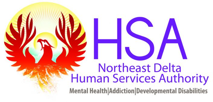 Northeast Delta Human Services Authority Logo