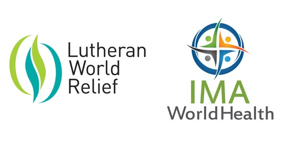Lutheran World Relief and IMA World Health Logo