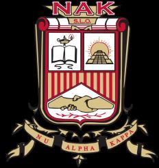 Nu Alpha Kappa Fraternity, Inc. Logo
