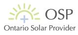 Ontario Solar Provider Logo