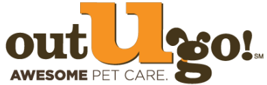 Out-U-Go! Awesome Pet Care Logo
