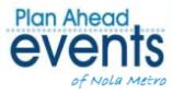 Plan Ahead Events-Nola Metro Logo