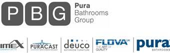 Pura bathrooms Group Logo
