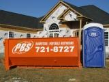 PBS Dumpsters and Portable Toilets Logo