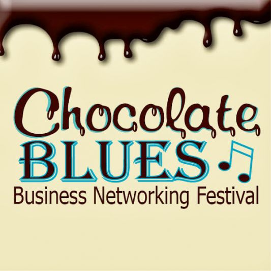 Chocolate Blues and Business Networking Logo
