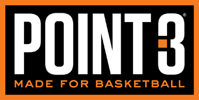 POINT 3 Basketball Logo