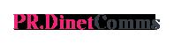 PR.DinetComms Logo