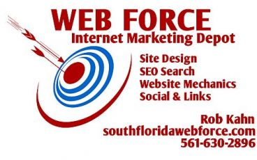 South Florida Web Force Logo