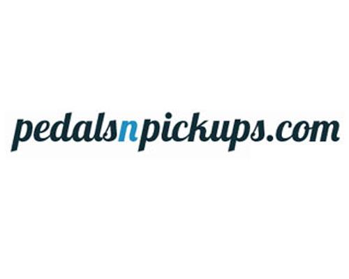 www.PedalsnPickups.com Logo