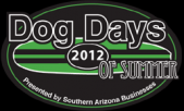 Dog Days of Summer Pet Food Drive Logo