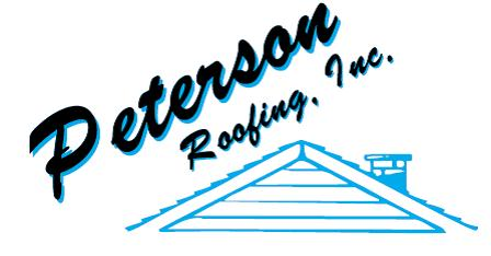 Peterson Roofing, inc. Logo