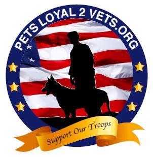 PetsLoyal2Vets Logo