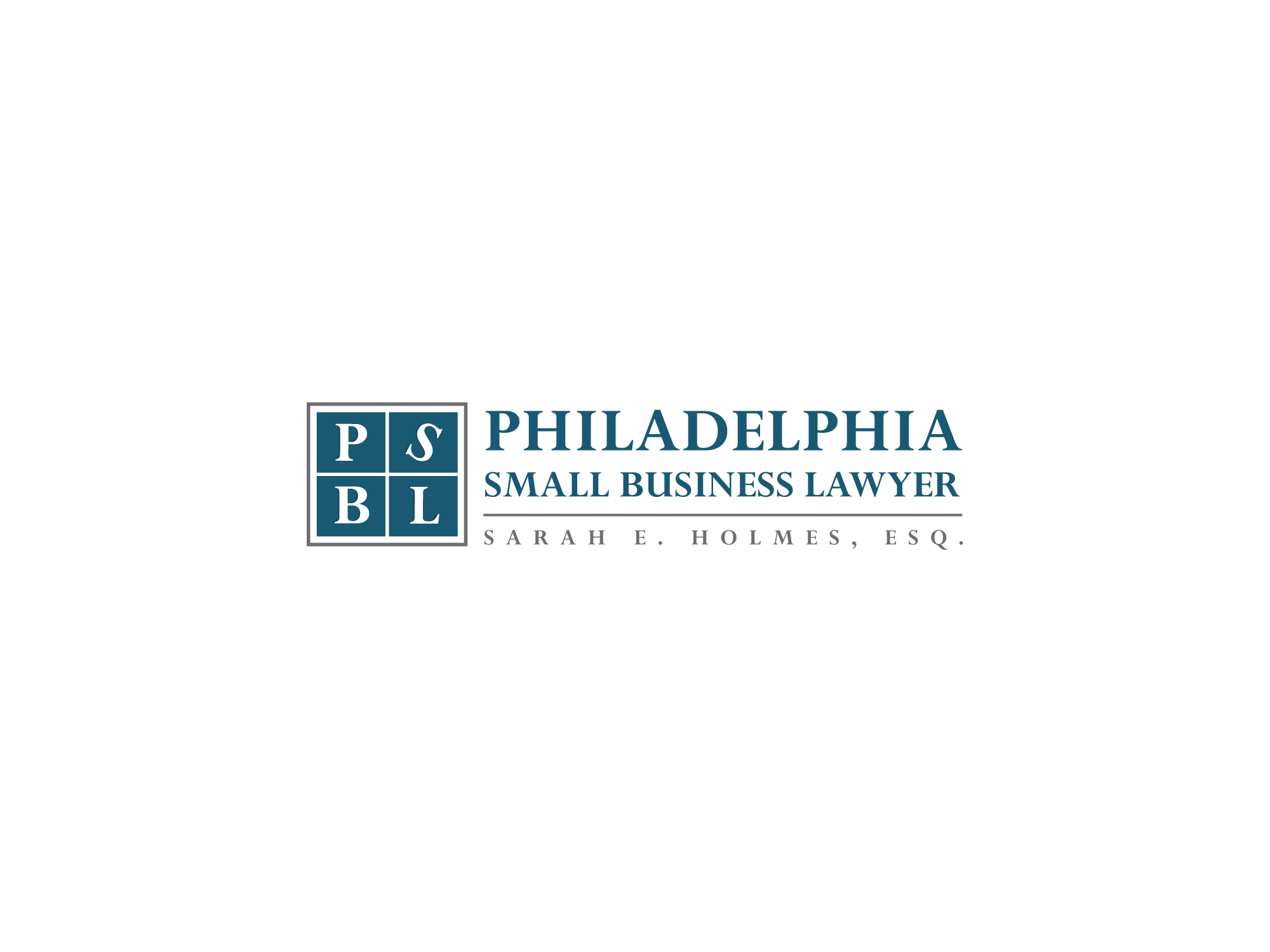 Philadelphia Small Business Lawyer Sarah E. Holmes Logo