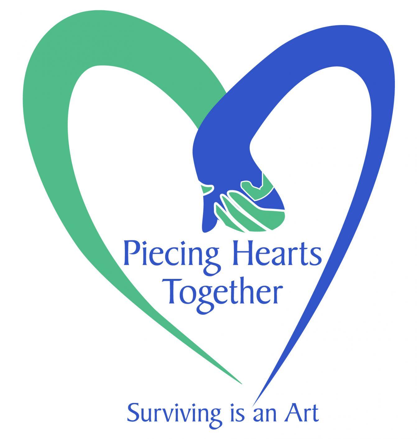 PiecingHeartsTogethr Logo