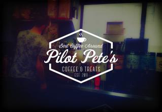 Pilot Pete's Coffee & Treats Logo