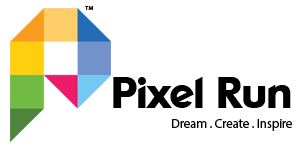 Pixel Run Logo