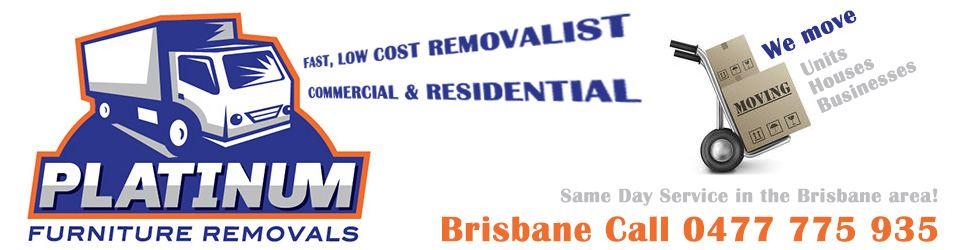 Platinum Furniture Removals Logo