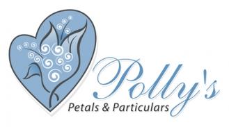 Polly's Petals & Particulars Logo