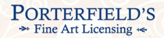 Porterfield's Fine Art Licensing Logo