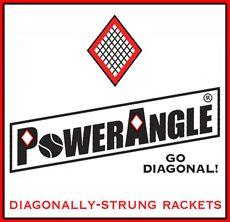 PowerAngle Rackets Logo