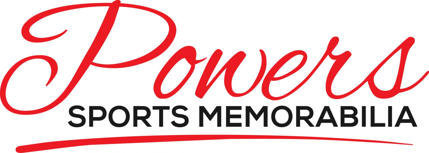 Powers Sports Memorabilia Logo