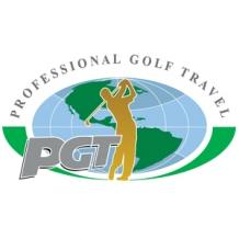 Professional Golf Travel Logo