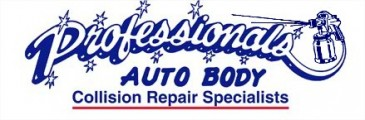 Professionals Auto Body Logo